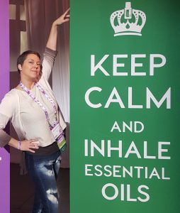 Molly says keep calm with essential oils
