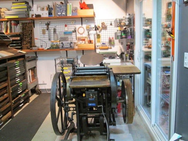 Old Letter Press