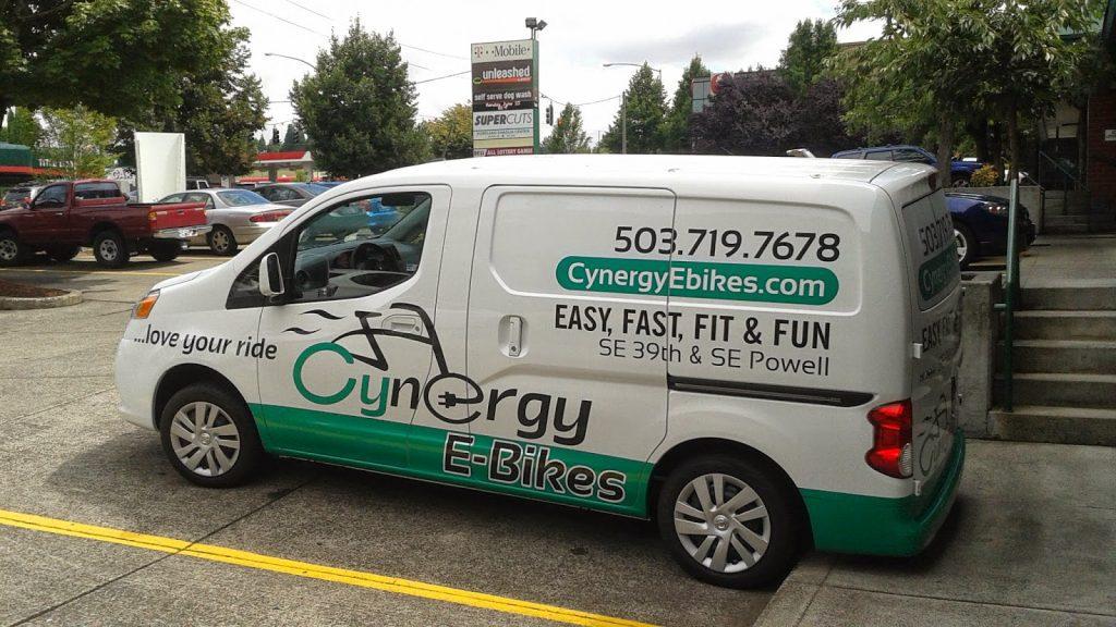 Cynergy E-Bikes Van