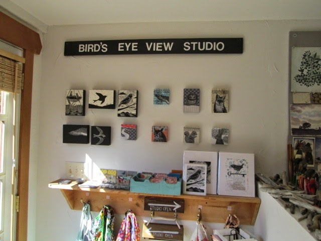Inside Birds Eye View Studio
