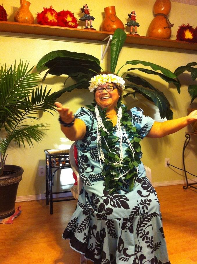 Juanita Hula Dancing