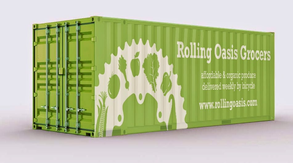Rolling Oasis Container