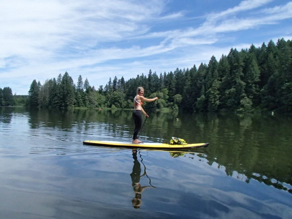Paddle Board on Lake