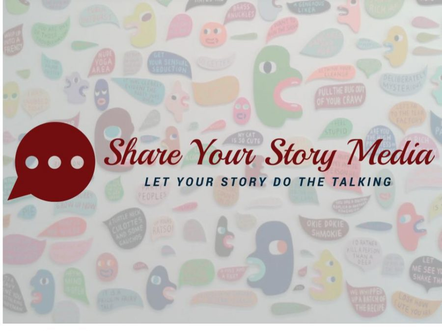 Logo for Share Your Story Media