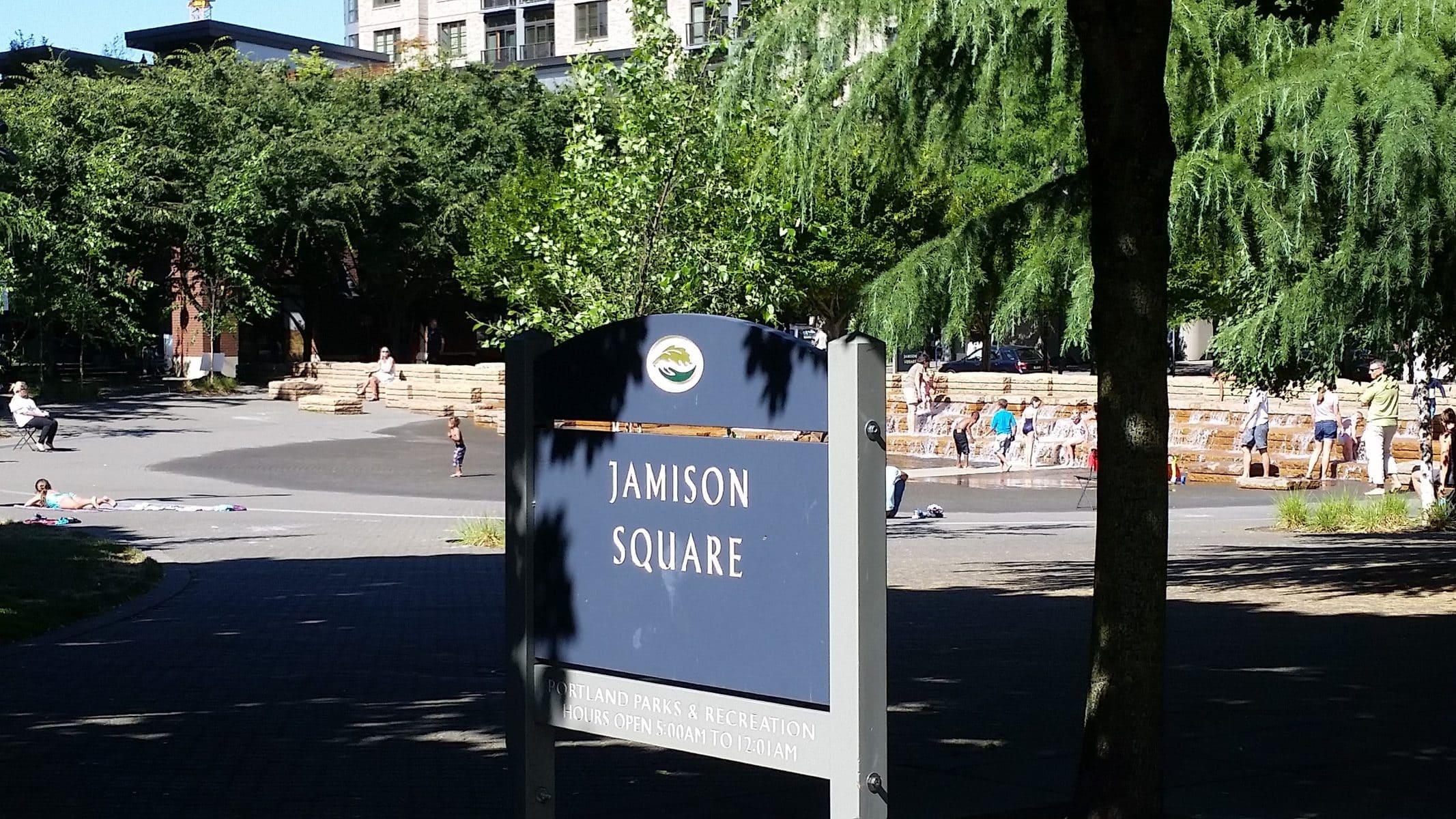 Jamison Square Portland